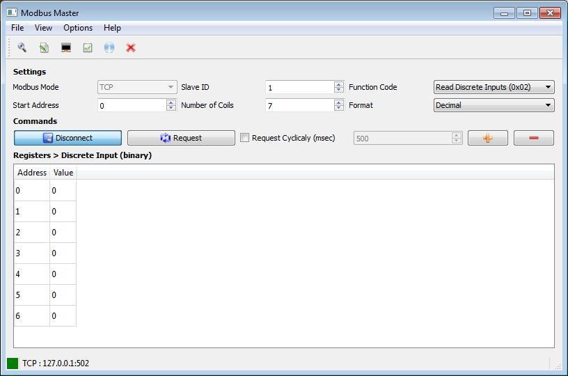 QModMaster – Modbus TCP,RTU Master Software  | Security List