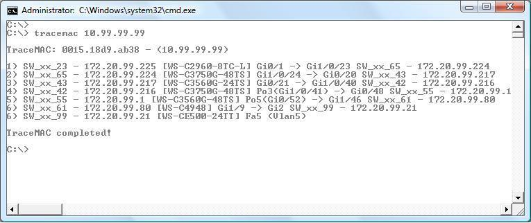 TraceMAC \u2013 Traceroute for MAC addresses   Security List Network™